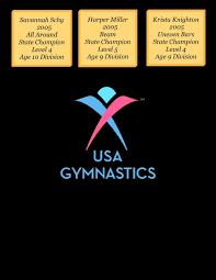 Usag Level 4 Floor Routine 2015 by Broadway Gymnastics Girls Team