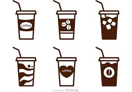 Iced Coffee Vectors
