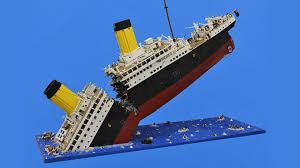 Minecraft Titanic Sinking Download by Photo Collection Lego Titanic Sinking Image