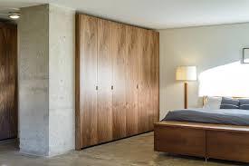 walnut ikea closet modern schlafzimmer new york