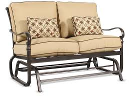Veranda Metal Patio Loveseat Glider by Decorating Your Porch And Patio Never Been The Same With Porch