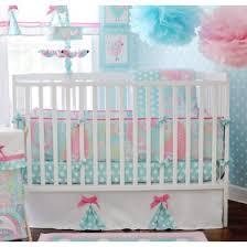 Aqua Baby Girl Bedding Blue Girl Crib Bedding Rosenberry Rooms