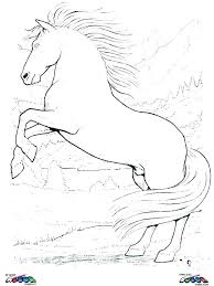 Cool Horse Coloring Pages Page Printable Children Colouring Pictures Unicorn