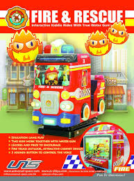100 Fire Truck Game Unis Indoor Water S For Malls Coin Operated Children S