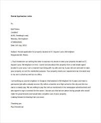 cover letter for rental application Asafonec