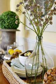 Simple And Lovely Spring Buffet Table Decorations