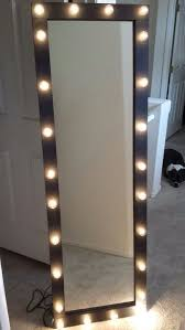diy vanity mirror with lights diy ikea hack vanity put