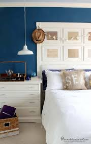Up Cycled Southwestern Bench Coastal BedroomsNautical BedroomCottage BedroomsBedroom DecorBlue