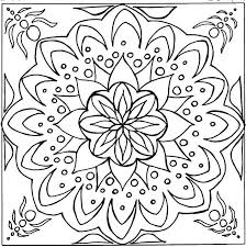 Coloring Celtic And Flower Pages Circle Mandala