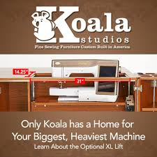 Koala Sewing Machine Cabinets by Introducing The New Xl Lift My Studio Style