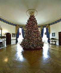 The 2002 Blue Room Christmas Tree