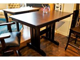 Oakwood Industries Casual Dining Mini Mission Trestle Table ... Fniture Unbelievable Cool Seagrass Ding Chairs With Rh Modern Homepage Leikela Papaya Medley Tropical Set Round Table For 6 Visual Hunt Room Walker Las Vegas Bernhardt Club Room Ideas Five Piece Gaming Lifttop And Chair By Hillsdale Welcome Dinettes Unlimited Interior Design Ideas House Of Hipsters Padmas Plantation Sandspur Beach Arm Casters Chalk Paint Kitchen