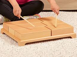 Musical Wood Blocks Woodworking Plan Kids Will Enjoy Hours Of Excitement And Growth Tapping Small ProjectsSmall