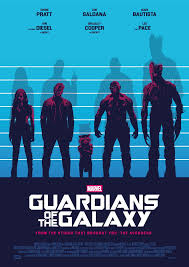 USUAL GUARDIANS OF THE GALAXY Poster Art 1 2 By RicoJrCreation