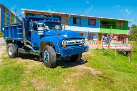 100 Colonial Truck Typical Colombian Blue And Houses In Guatape Colombia