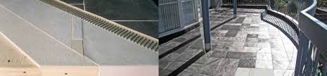 waterproof underlayment membrane for exterior tile deck and tile