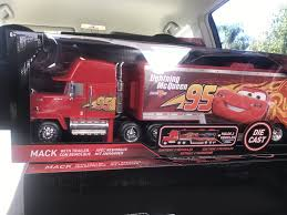 Jada Diecast Metal 1:24 Disney Cars Mack Truck With Hauler ...
