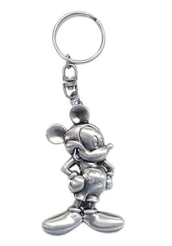 Mickey Mouse Pewter Key Chain