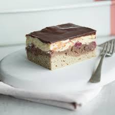 dicke torte ganz schlank leichte low carb donauwelle