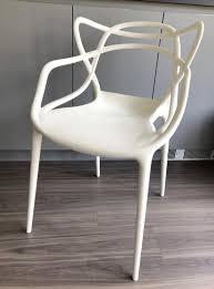 100 Phillip Starke 4x Philippe Starck For Kartell Masters Chairs