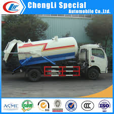 100 Tank Trucks For Sale China 20 Discount Off Dongfeng 4ton 4000L Vacuum Sewage Suction