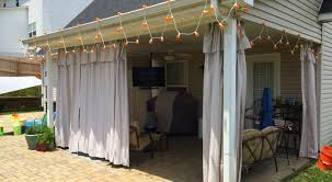 Menards Traverse Curtain Rods by Curtains Sony Dsc Outdoor Porch Curtains Noticeable Outdoor