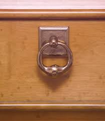Fleur De Lis Cabinet Knobs by Ring Cabinet Pull 1 9 16
