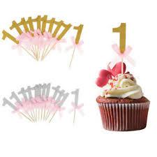 details zu kuchenstecker tortenstecker kuchen cupcake zahnstocher für baby 1 geburtstag