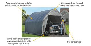 free shipping shelterlogic instant garage in a box for suv truck