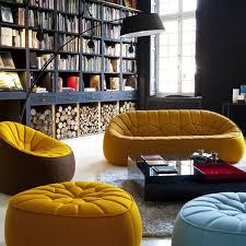 designer canapé canapé fauteuil pouf ottoman pour cinna par le designer noé