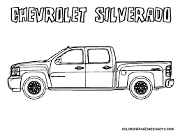 100 Coloring Pages Of Trucks Chevy Truck