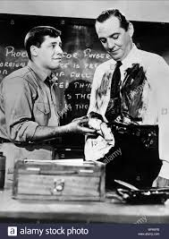 Jerry Lewis Stock Photos U0026 Jerry Lewis Stock Images Alamy by Jerry Lewis U0026 Horace Mcmahon The Delicate Delinquent 1957 Stock