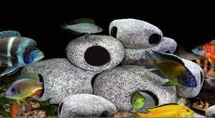 large aquarium rocks for sale aquarium decorations rock cave ceramic decor tropical fish