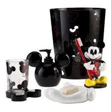 Mickey Mouse Bathroom Ideas by Mickey Mouse Bathroom Accessory Set Everything Mickey Vintage