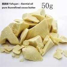 beurre de cacao cuisine cosmétiques yafuyan 50g pur beurre de cacao brut non raffiné