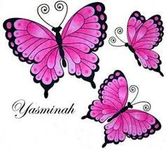 3 Butterflies for Yasminah s 3rd Birthday
