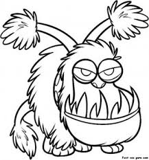 Print Out Kyle Despicable Me Coloring Pages