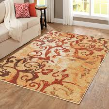 Walmart Living Room Rugs by Better Homes And Gardens Scrollwork Area Rug Walmart Com