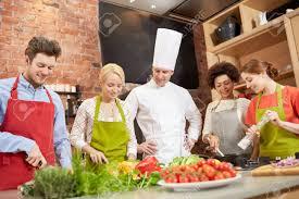 cours de cuisine culinaire nourriture et les gens le concept