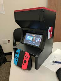 Bartop Arcade Cabinet Plans by My Switch Arcade Cabinet Nintendoswitch