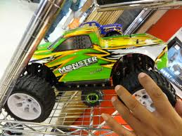 And Its Funny On Facebook This Morning My Cousin Marty Had A Few Videos About Testing Out His RC Truck It Was Pretty Cool He Is Really Good With