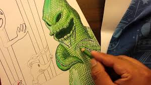 Oogie Boogie Halloween Stencil by Drawing Oogie Boogie Part 2 Youtube