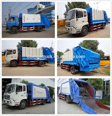 Cnhtc Sinotruk Howo Garbage Compactor Truck 10 Wheels Compressed ...