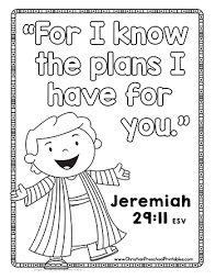 Joseph Bible Verse For Kids This Is A Simple Coloring Page