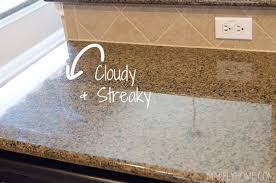 to Clean Granite Countertops with Steam