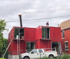 100 Container Home Designers Hamiltons First Shipping Was Built In A Day