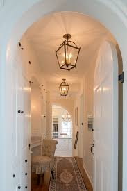 hallway lighting fixtures traditional with addition arched