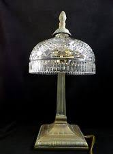 Crystal Table Lamp Finials by Waterford Crystal Seahorse Lamp Finial Mint Ebay