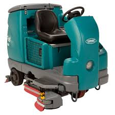 ride on scrubber dryer battery powered t16 tennant videos