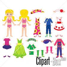 CLIPART DRESS UP GIRL